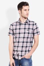 3 Second Men Shirt Black (L) Diskon discount murah bazaar baju celana fashion brand branded
