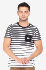 3 Second Men Tshirt White Diskon discount murah bazaar baju celana fashion brand branded