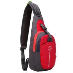 Harga 360Dsc Tanluhu 821 Tahan Air Nilon Wisata Untuk Luar Ruangan Olahraga Lari Memikul Silang Selempang Tas Dada Ransel Merah Yg Bagus