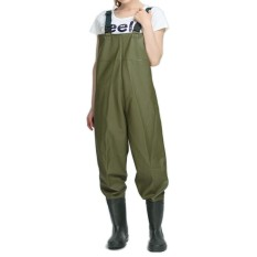 Toko 38 45 Fishing Chest Wader Boot Foot Pvc Full Sealed Water Resistant Free Repair Kit Anti Skid Sole Build In Pocket Intl Online Di Tiongkok