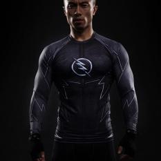 2016 New Fitness Compression Shirt Men Superman Bodybuilding Long Sleeve 3D T Shirt Crossfit Tops Shirts. Source · 3D Dicetak T-Kemeja Pria Raglan Lengan ...