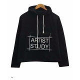 Beli 3K Artist Study Sweater Fleece Hitam 3K Fashion Murah