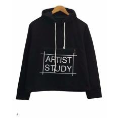 3K Artist Study Sweater Fleece Hitam 3K Fashion Diskon 30