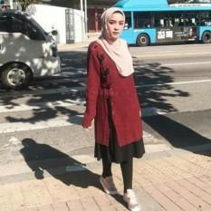 3K Baju Muslim - Donna Sweater Tunic - Rajut Premium 7 Get