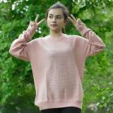 Cuci Gudang 3K Bumble Sweater Rajut Prmium Pink Dusty
