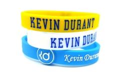 3 Pcs Kevin Durant Olahraga Silicone Gelang Pro Bisa Disesuaikan Basket Gelang Baller Band Gelang Olahraga-Intl