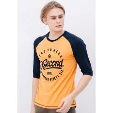 Promo 3Second Men Tshirt 4812 3Second Terbaru
