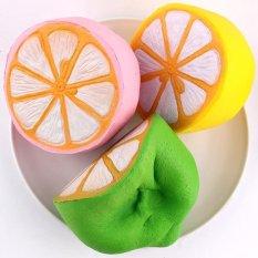 Jual 4 3 Jumbo Lambat Rising Squishy Lemon Kawaii Mainan Licin Lambat Rebound Intl Original