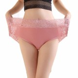 Toko 40 120 Kg Wanita Katun Lembut Celana Renda Pakaian Dalam High Waist Briefs Untuk Wanita Ukuran Lebih Internasional Terlengkap Tiongkok