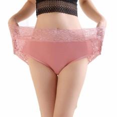 Jual Beli 40 120 Kg Wanita Katun Lembut Celana Renda Pakaian Dalam High Waist Briefs Untuk Wanita Ukuran Lebih Internasional Di Tiongkok