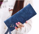 Diskon 40 Kartu Fashion Women Leather Long Id Kartu Kredit Paspor Cover Dompet Deep Blue Branded