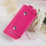 Toko 4Ever 1Pcs Pu Mini Keys Organizer Holder Pouch Wallet Case Bag Pink Intl 4Ever Di Tiongkok