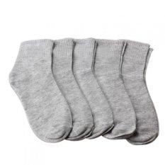Jual 5 Pair Lelaki Kaki Kaus Kaki Celana Celana Celana Celana Celana Celana Pendek Pria Kaus Kaki Atletik Satu Ukuran Grey Original