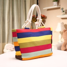 5 Pcs Korea Versi Baru Kreatif Bangalor Kanvas Tas Bahu Tas Backpack Shoulder Bag Wanita Grosir CrossGeometric Figure-Intl