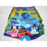 Promo 501 6Pcs Celana Dalam Boxer Anak Robocar Poli Murah