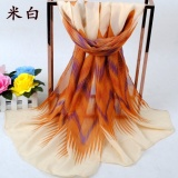 Situs Review 50 160 Cm Syal Sifon Tipis Fashion Wanita Aksesoris Musim Panas Musim Semi Musim Gugur Sunscreen Cape Selendang Internasional