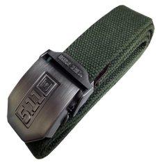 Toko 511 Sabuk Tactical Series Head Stainless Strap Nylon Hijau Army Zac Di Dki Jakarta