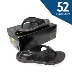 52 Fashion Pakalolo Boots Sandal Casual Pria N0161 B - Black Size 40-44