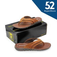 52 Fashion Pakalolo Boots Sandal Casual Pria N0161 C - Coklat Size 43-44