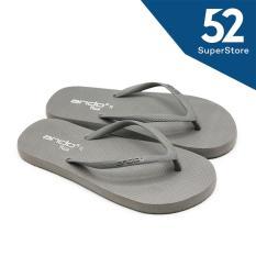 Ando Sandal Jepit / Flip Flop Wanita Nice Ladies - Abu Tua Ukuran 36-40
