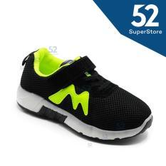 Jual 52 Fashion Sepatu Sport Anak 1611 112 Black Size 31 36 Branded Original