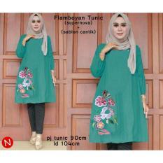 53395 Flamboyan Tunic/Baju Tunik Murah/Atasan Muslim Wanita Murah