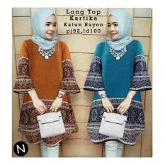 58218/tunik wanita/tunik batik/blouse import/baju muslim wanita