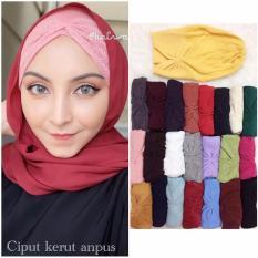 Beli 5Pcs Ciput Kerut Rajut Premium Bebas Pilih Warna Hijab Asli