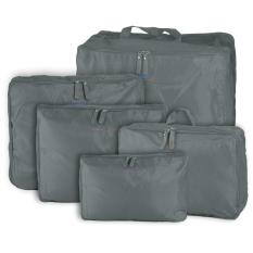 Beli 5Pcs Travel Luggage Storage Bag Clothes Organizer Handbag Grey Intl Unbranded Online