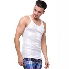 6 pcs Sedo Kaos Dalam Pria Singlet Putih Harga Grosir