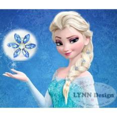 Lynn Design - [ 6pcs] Frozen elsa hairpin aksesoris rambut anak untuk gaun pesta atau kostum