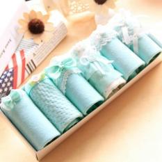 Diskon Produk 7Colourbox Celana Dalam Box Underwear Brief Wanita Cute Korean Style M 6