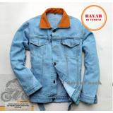 Beli 7Dayofweek Hot Item Jaket Jeans Denim Dilan 1990 Bioblitz Best Seller Cicilan