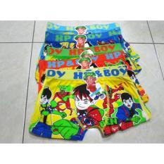 8058 - 6pcs Celana Dalam Boxer Anak / CD Anak Ben 10