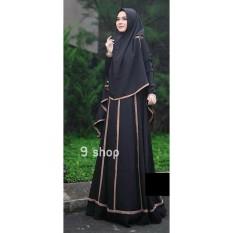 9 Shop Baju Gamis Maxi Dress Muslim Wanita Syari NELLA ( Dapat Jilbab ) / Baju Muslim Wanita / Gamis Muslimah / Hijab Wanita / Gamis Murah / Gamis Terbaru / Gamis Wanita / Maxi Dress Lengan Panjang / Syari Muslim / Syari'i Wanita / Gamis Modern