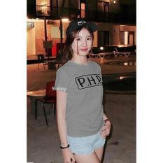 9 Shop Kaos Cewek Tumblr Tee PHP - ABU Kaos Wanita T-shirt Wanita Kaos