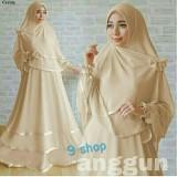 Spesifikasi 9 Shop Set Gamis Syari Muslim Wanita Anggun Coksu Dress Muslim Syar I Muslim Hijab Muslim Gamis Wanita Terbaik