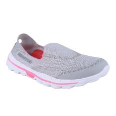 Beli 910 Nineten Sepatu Slip On Olahraga Kawai 1 5 Abu Merah Muda Putih Dengan Kartu Kredit