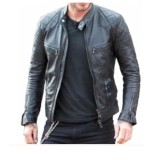 Promo A4J Fashion Jaket Exlusive Sk Series Semi Kulit Model Beckham A4J Fashion