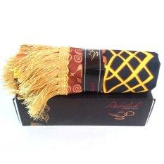 Harga Aabidah Sajadah Travel Persian Cokelat Original