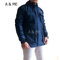 Jual A Me Jaket Bomber Jaket Parasut Bolak Balik Jaket Parka Parca Jaket Pria Wanita Jaket Pilot Distro 2 Lapis Kupluk Hoodie Bahan Parasut Tebal Indonesia