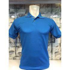 Toko A Me Kaos Polos Polo Shirt Biru Online Terpercaya