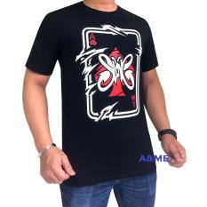 A&ME Kaos T-Shirt Distro Atasan Pria Wanita Baju Fashion Cotton Combed 30s Pakaian Cowok Cewek Lembut Adem Nyaman Simple Keren Casual Sporty Gambar Tulisan Sablonan Bagus Group Musik Pop Rock & Roll Penyanyi Slanker JANGAN TAKUT -Hitam