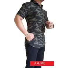 Harga A Me Kemeja Army Loreng M L Xl Hijau Army Keren Bagus Moderen A Me Indonesia