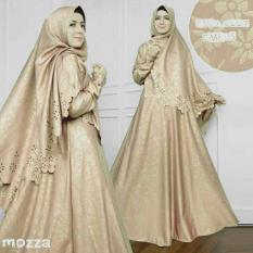 AAYZ Gamis Syari Balotelly Embos / Gaun Muslimah Syar'i / Baju Muslim Wanita / Maxi Dress / Kebaya Muslim