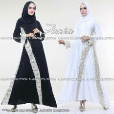Harga Abaya Annisa Putih Dan Hitam Merk Al Khatib