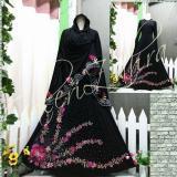 Jual Abaya Syari Full Flower Online