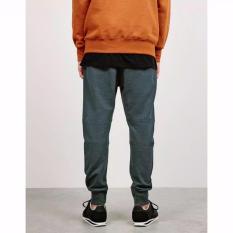 (ABU ABU TUA-M/L) Celana Panjang Pria Polos Basic Jogger Pant Sweatpant Joger pants Training Brooklyn