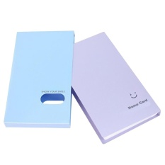 AC 120 Cards Business Name ID Credit Card VIP Cards Holder Book Case Organizer-Sky Blue