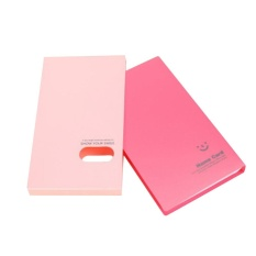 AC 120 Cards Business Name ID Credit Card VIP Cards Holder Book Case -Pink